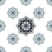 Seamless Abstract Modern Pattern Created from Repetitive Squares Stock Illustration
