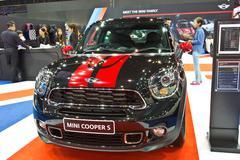 MINI COOPER S show at the second Bangkok international auto salon 2013 - stock photo
