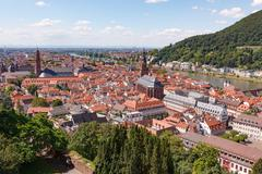 Stock Photo of Heidelberg city at sunny summer day