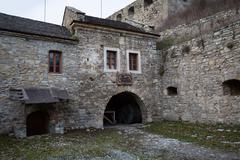 Old castle - stock photo