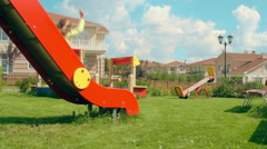 Playing in the Playground - stock footage