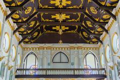 The interior of the Roman Catholic Church(The Nativity of Our Lady Cathedral) Stock Photos
