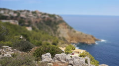 Time-lapse of picturesque seafront in Javea, Spain. Stock Footage