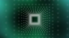 Vector dotted squares continuously moving sideways. Stock Footage