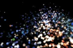 Stock Illustration of Abstract image background glowing particles