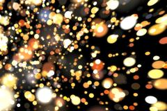 Abstract image background glowing particles Stock Illustration