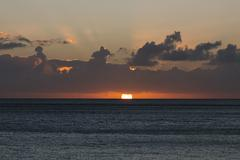 Sunset at Jandia Beach in Fuerteventura, Spain Stock Photos