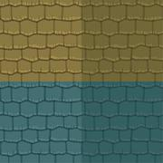 Seamless texture slate roof. Vector illustration. Architecture pattern - stock illustration