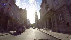 Quebec City by car 8 Stock Footage