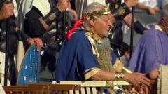 Roman emperor Stock Footage