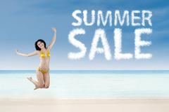 Summer sale promotion concept 1 - stock photo