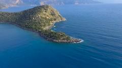 Gemiler Island Fethiye Turkey Stock Footage