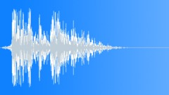 Stock Sound Effects of Organic Frozen Impact 1