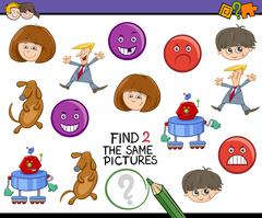 Stock Illustration of educational activity for kids