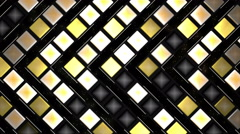 Golden Blink Background Stock Footage