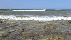 4k beautiful landscape of the beach in Taiwan Kenting National Park Seascape-Dan Stock Footage