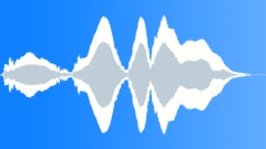 Subsonic bass creaks - sound effect