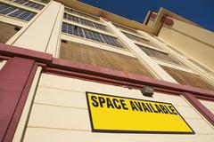 Building with space available Stock Photos