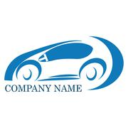 car company logo - stock illustration