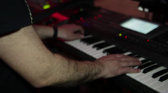 Stock Video Footage of Professional Man Playing the Piano