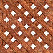 Fence made of boards seamless texture Stock Illustration