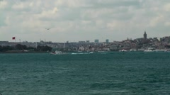 Bosphorus Stable Shot 8 Stock Footage