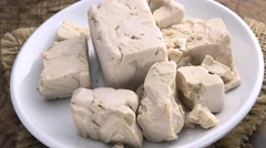 Portion of rotating Yeast (not loopable) Stock Footage