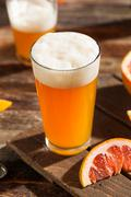 Sour Grapefruit Craft Beer - stock photo