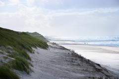 Sand dunes and beach of Sylt, Schleswig-Holstein, Germany Stock Photos