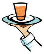 Soda drink - stock illustration