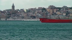 Bosphorus Stable Shot 6 Stock Footage