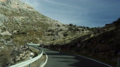 4K, Driving Through Andalusia Stock Footage