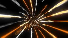 Wormhole through time and space, data technology style. Stock Footage