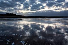 Doughmore beach, doonbeg, county clare, ireland - stock photo