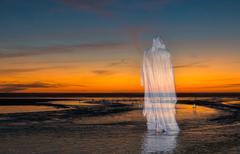 Sunset Beach Jesus Christ Kuvituskuvat