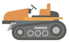 Classic agricultural machinery Stock Illustration