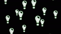 Idea icons. Looping. Stock Footage