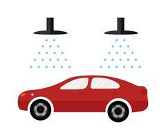 Stock Illustration of Automatic car wash facilities innovative self service foaming brush unit