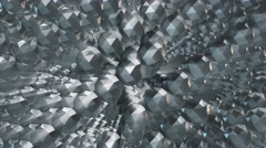 diamonds shapes abstract motion background - stock footage
