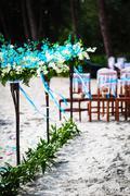 Wedding decoration in Thai. Macro Stock Photos