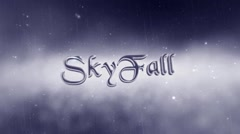 SkyFall : Cinematic Trailer - stock after effects