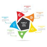 Business info-graphics design Stock Illustration