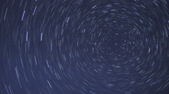 Star Trails Time-lapse 4K Stock Footage