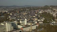 Panorama of Wetzlar Stock Footage