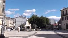 Time lapse city of Isernia, Molise Stock Footage
