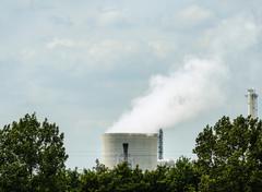 Smokestack of chemical plant Kuvituskuvat