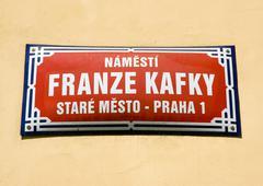 Stock Photo of Square of Franz Kafka