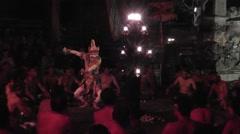 Bali Kecak Dance,episode 2 Stock Footage