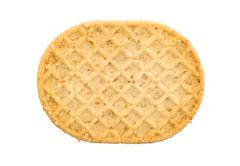 Small cookie isolated - stock photo