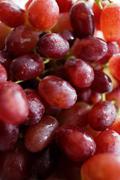 Close up of bunch of grapes Stock Photos